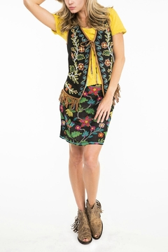 Double D Ranchwear Floral Beaded Vest - Product List Image
