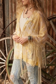 Double D Ranchwear Fringe Kimono Jacket - Product Mini Image