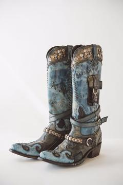 Double D Ranchwear Frontier Trapper Boot - Alternate List Image