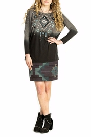 Double D Ranchwear Geometric Embroidered Tunic - Front cropped