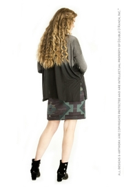 Double D Ranchwear Geometric Embroidered Tunic - Front full body