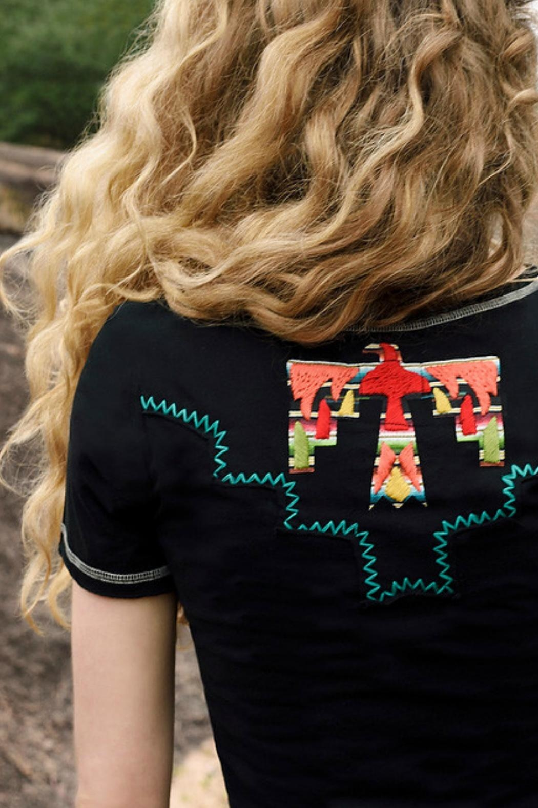Double D Ranchwear Graphic Tee - Front Full Image