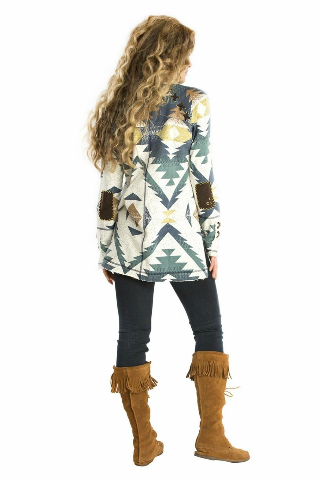 Double D Ranchwear Hi-Lo Tunic - Front Full Image