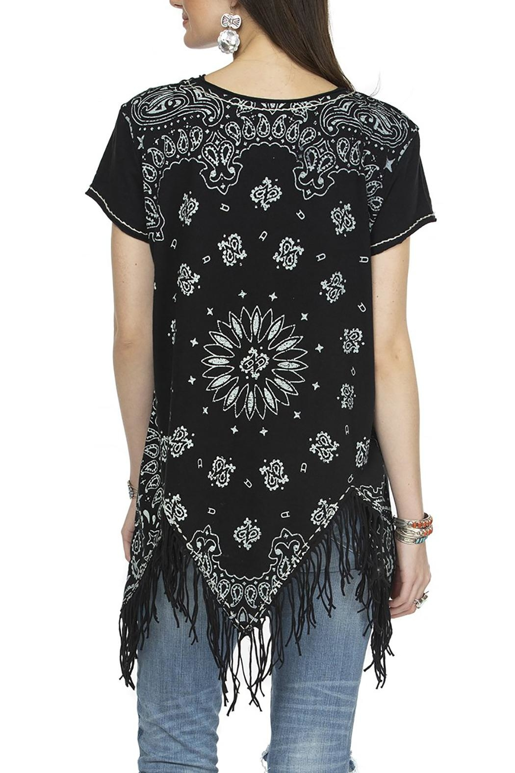 Double D Ranchwear July Bandana Top - Front Full Image