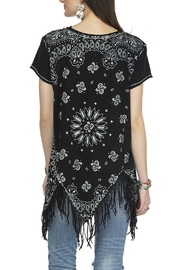 Double D Ranchwear July Bandana Top - Front full body