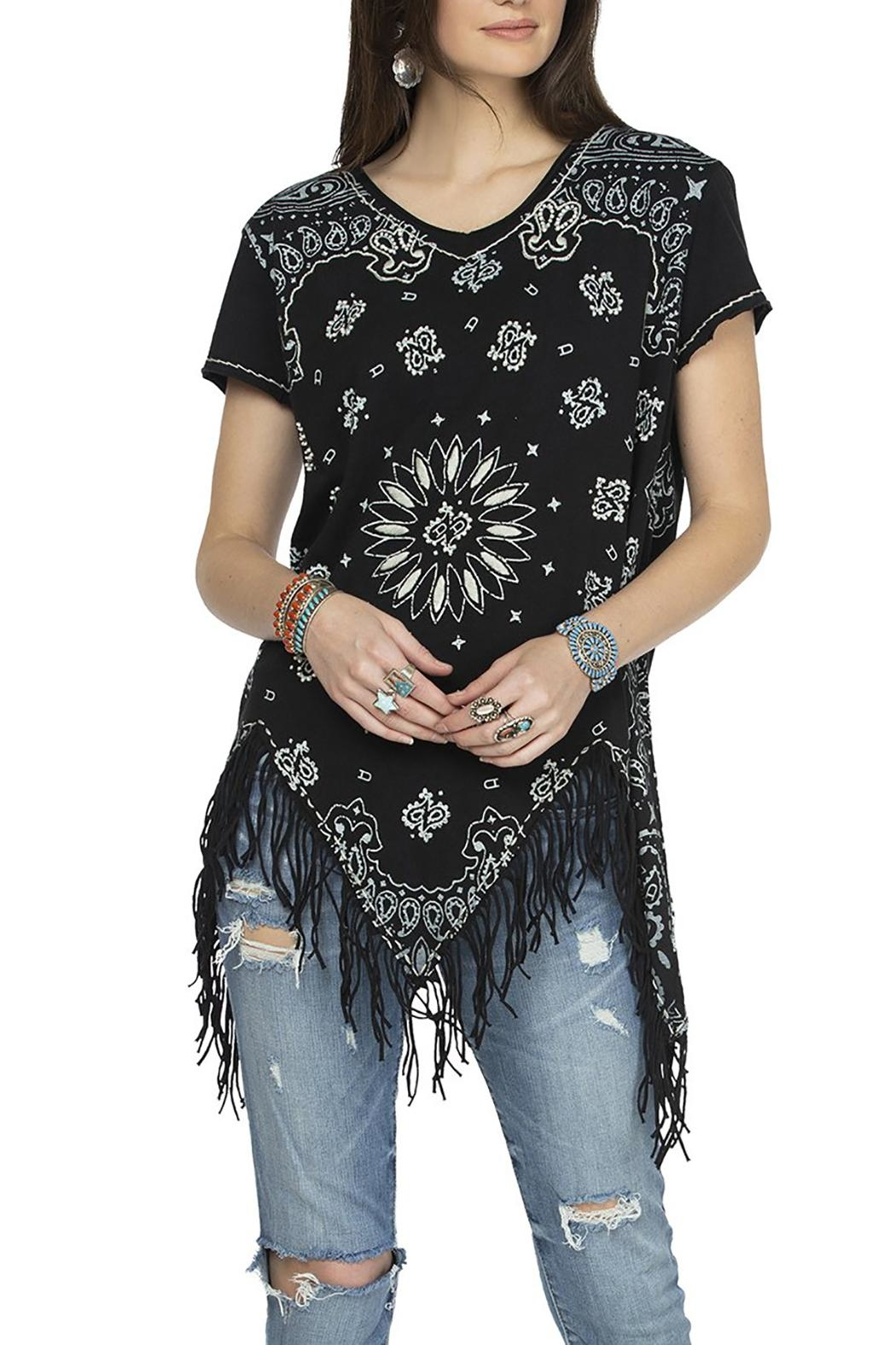 Double D Ranchwear July Bandana Top - Front Cropped Image