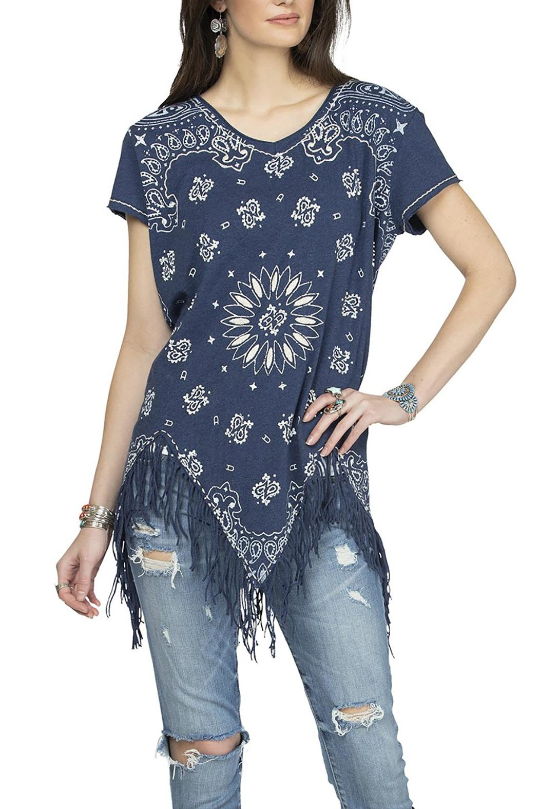 Double D Ranchwear July Bandana Top - Main Image
