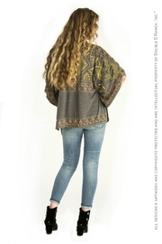 Double D Ranchwear Oversize Embroidered Tunic Top - Front full body