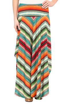 Double D Ranchwear Serape Stripe Skirt - Product List Image