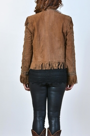 Double D Ranchwear Suede Fringe Jacket - Front full body