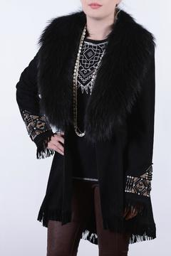 Double D Ranchwear Suede Fur Coat - Alternate List Image