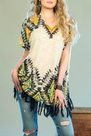 Double D Ranchwear Tunic Poncho Top - Product Mini Image