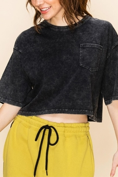 Double Zero Acid Crop Top - Product List Image