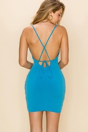 Double Zero Bodycon Mini Dress - Front full body