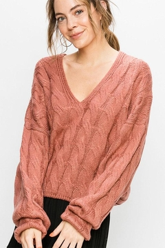 Double Zero Cable Knit Sweater - Product List Image