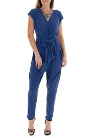 Double Zero Cap Sleeve Jumpsuit - Product Mini Image