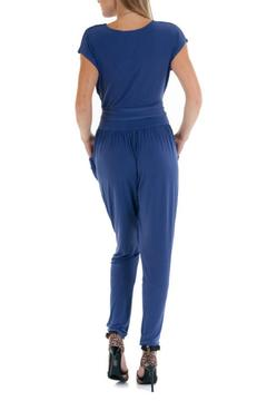 Double Zero Cap Sleeve Jumpsuit - Alternate List Image