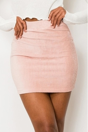 Double Zero Corduroy Mini Skirt - Product Mini Image