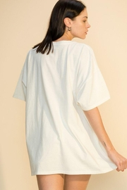 Double Zero Distressed Oversized T Shirt - Other