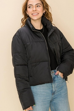Shoptiques Product: Draw-Cord Puffer Jacket