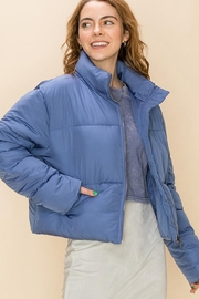 Double Zero Draw-Cord Puffer Jacket - Front cropped