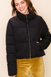 Double Zero Drawcord Puffer Jacket - Product Mini Image