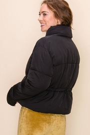 Double Zero Drawcord Puffer Jacket - Side cropped