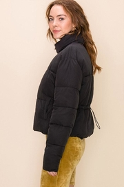 Double Zero Drawcord Puffer Jacket - Front full body