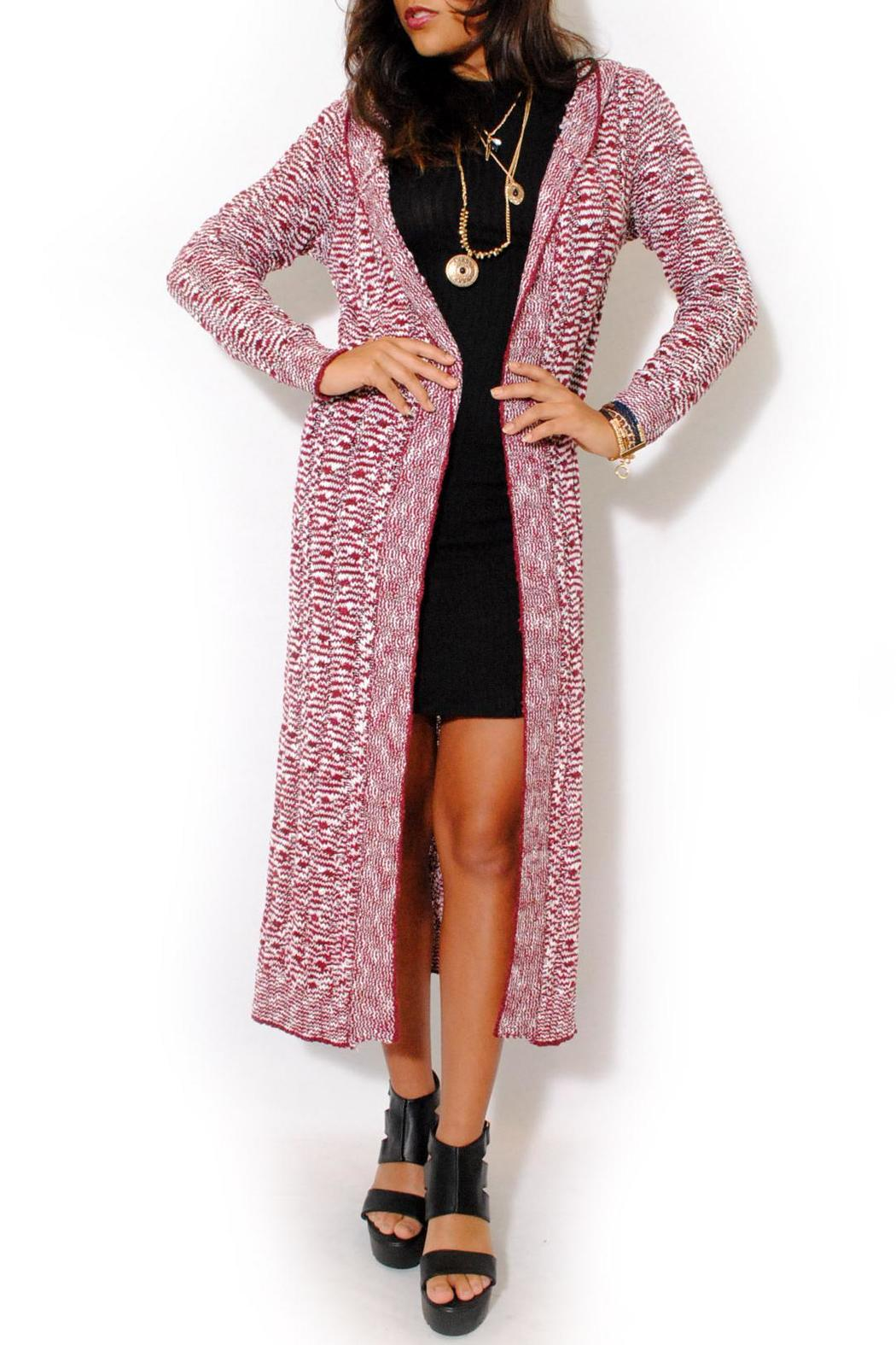 Double Zero Duster Hoodie Cardigan from Miami by L.A. Roxx ...