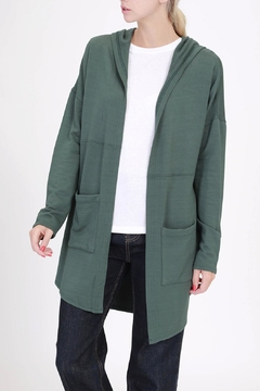 Double Zero French Terry Cardigan - Product List Image
