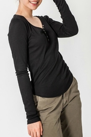 ALB Anchorage Henley V-Neck Top - Side cropped