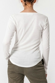 ALB Anchorage Henley V-Neck Top - Front full body