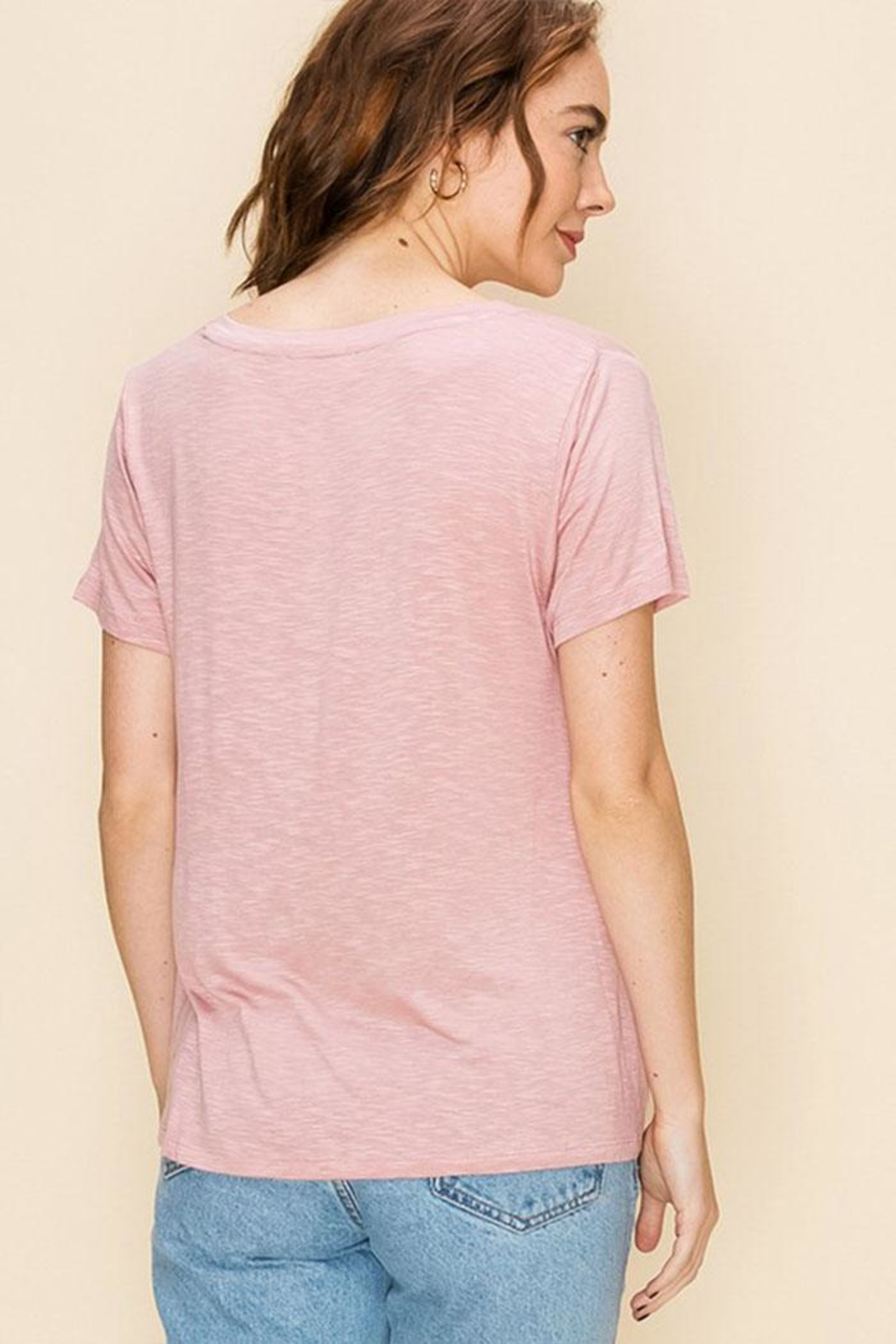 Double Zero Knot Front Tee - Front Full Image