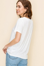 Double Zero Knot Front Tee - Other