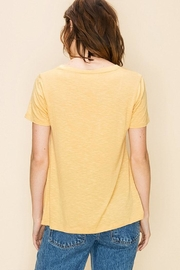 Double Zero Knot Front Tee - Front full body