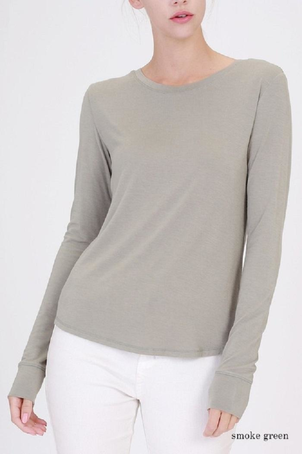 e1072643a010c Double Zero Long Sleeve Top from New York by Dor L Dor — Shoptiques