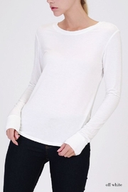 Double Zero Long Sleeve Top - Product Mini Image
