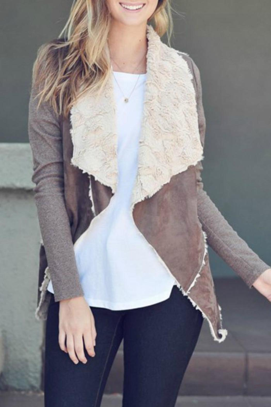 73b999897e42d Double Zero Faux Fur Suede Jacket from Texas by The Closet Monster ...