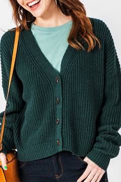 Double Zero Mary Cropped Cardigan - Product List Image