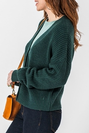 Double Zero Mary Cropped Cardigan - Front full body