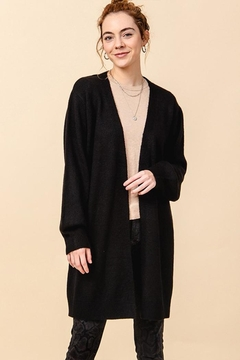 Double Zero Open Front Cardigan - Product List Image