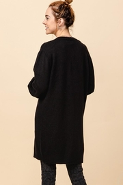 Double Zero Open Front Cardigan - Side cropped