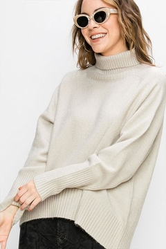 Shoptiques Product: Oversized Turtleneck Sweater