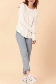 Double Zero Plain Jane Sweater - Product Mini Image
