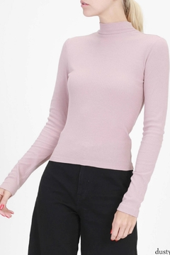 Double Zero Ribbed Crop Top - Product List Image
