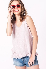Double Zero Ruffle Detail Tank - Product Mini Image