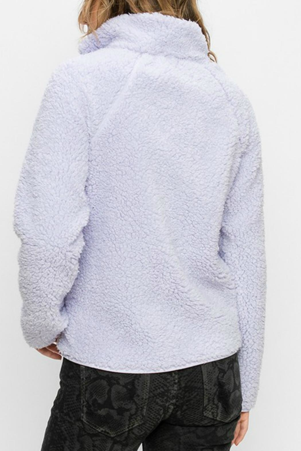 Double Zero Sherpa-Fleece With Pockets - Front Full Image