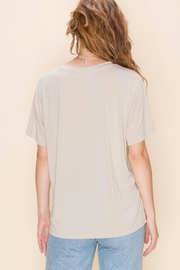 Double Zero Super Soft Tee - Back cropped