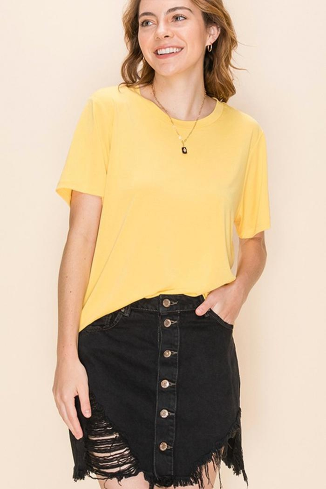 Double Zero Super Soft Tee - Front Cropped Image