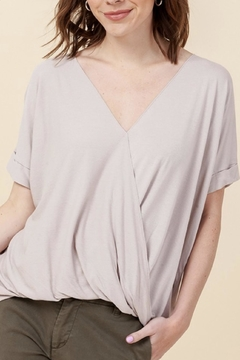 Double Zero Surplice Front Top - Product List Image